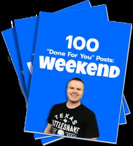 100 Weekend