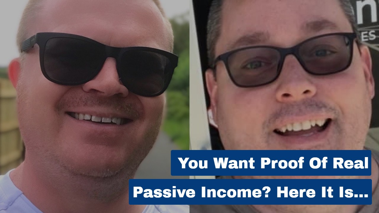 You Want Proof of Real Passive Income? Here It Is…