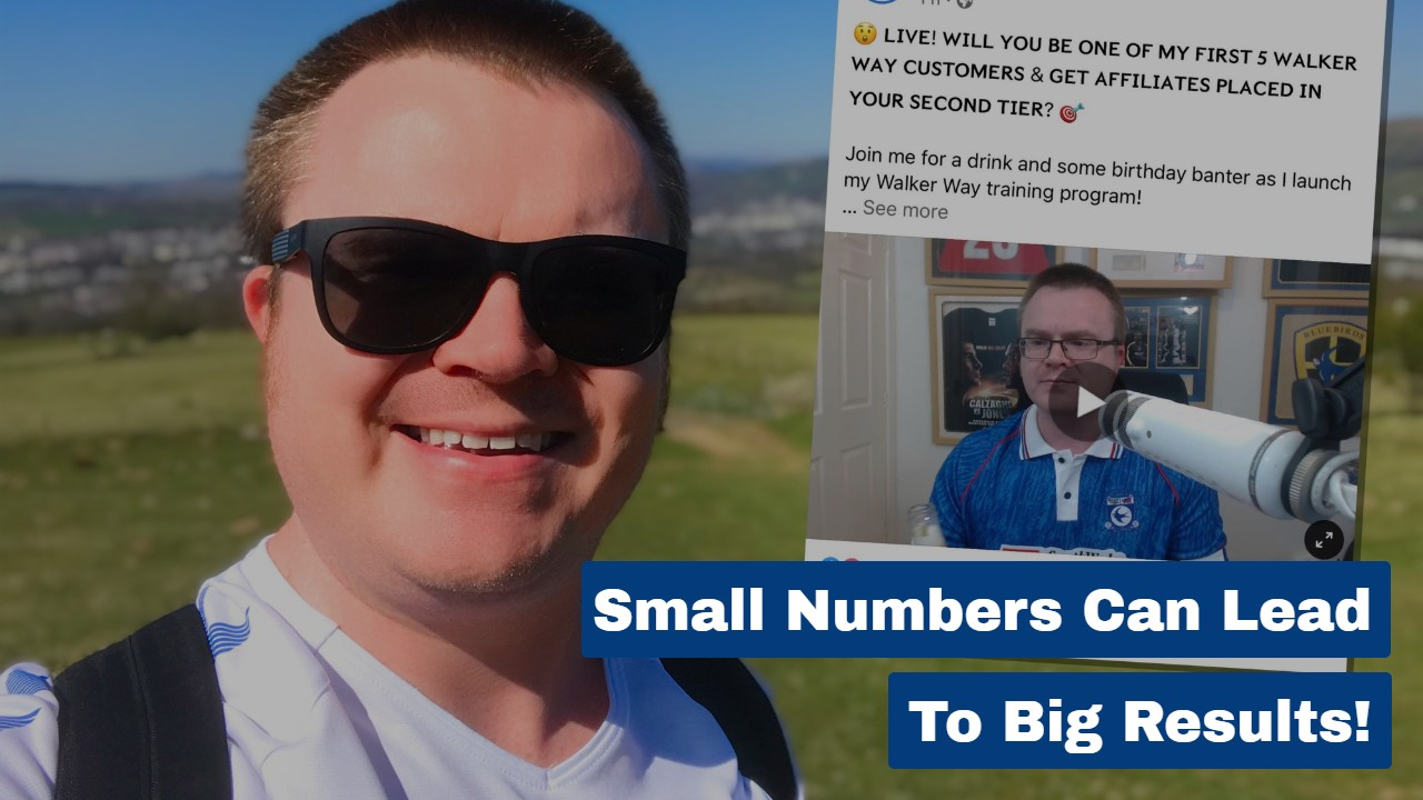 Small Numbers Can Lead To Big Results!