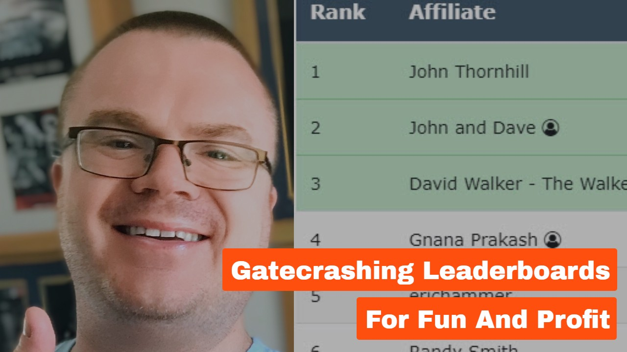 Gatecrashing Leaderboards For Fun and Profit