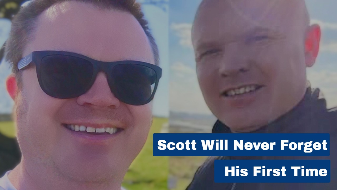Scott Will Never Forget His First Time