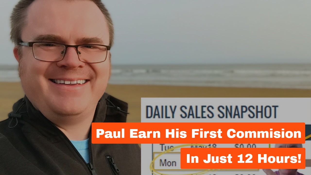 Paul Earned His First Commission In Just 12 Hours!