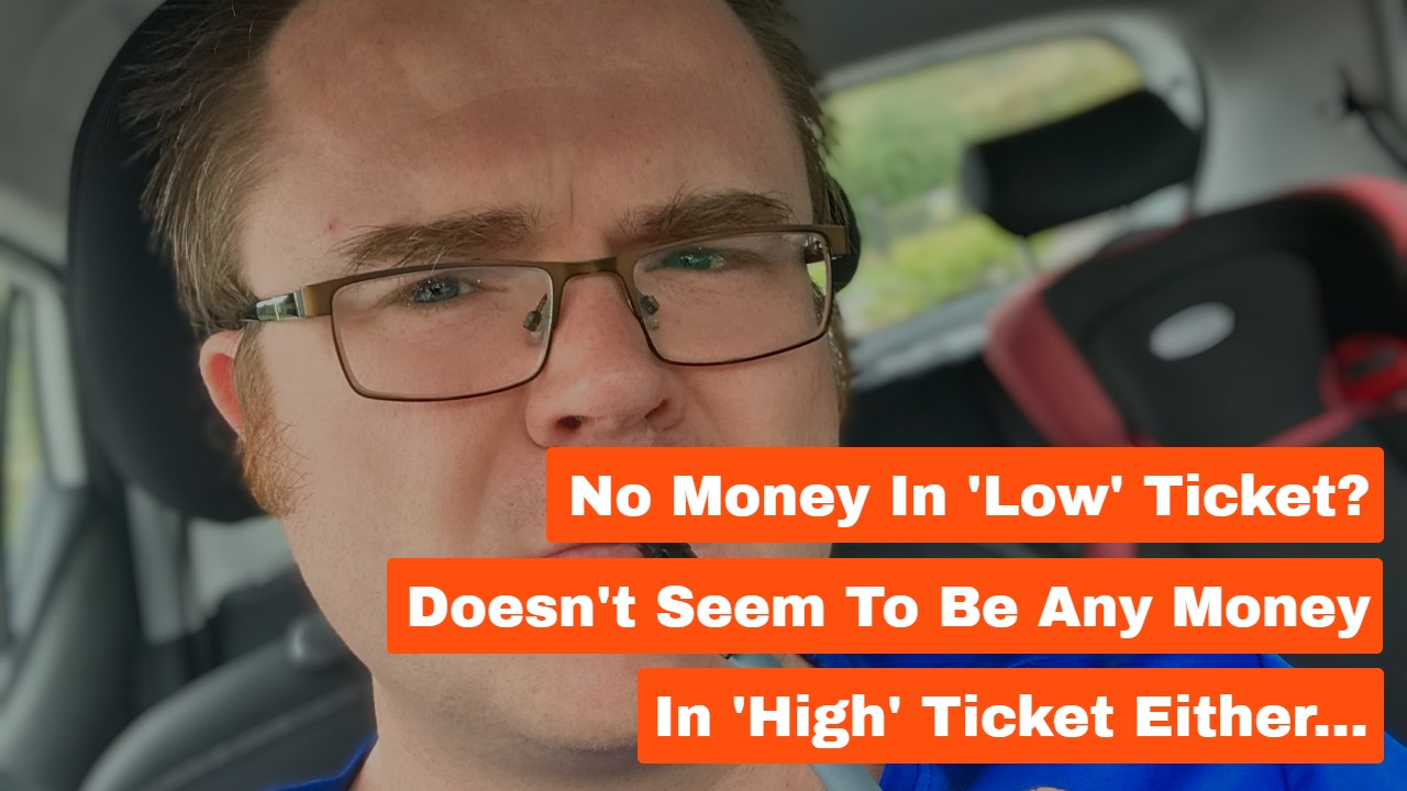 No Money in 'Low' Ticket? Doesn't Seem to Be Any Money in 'High' Ticket Either…