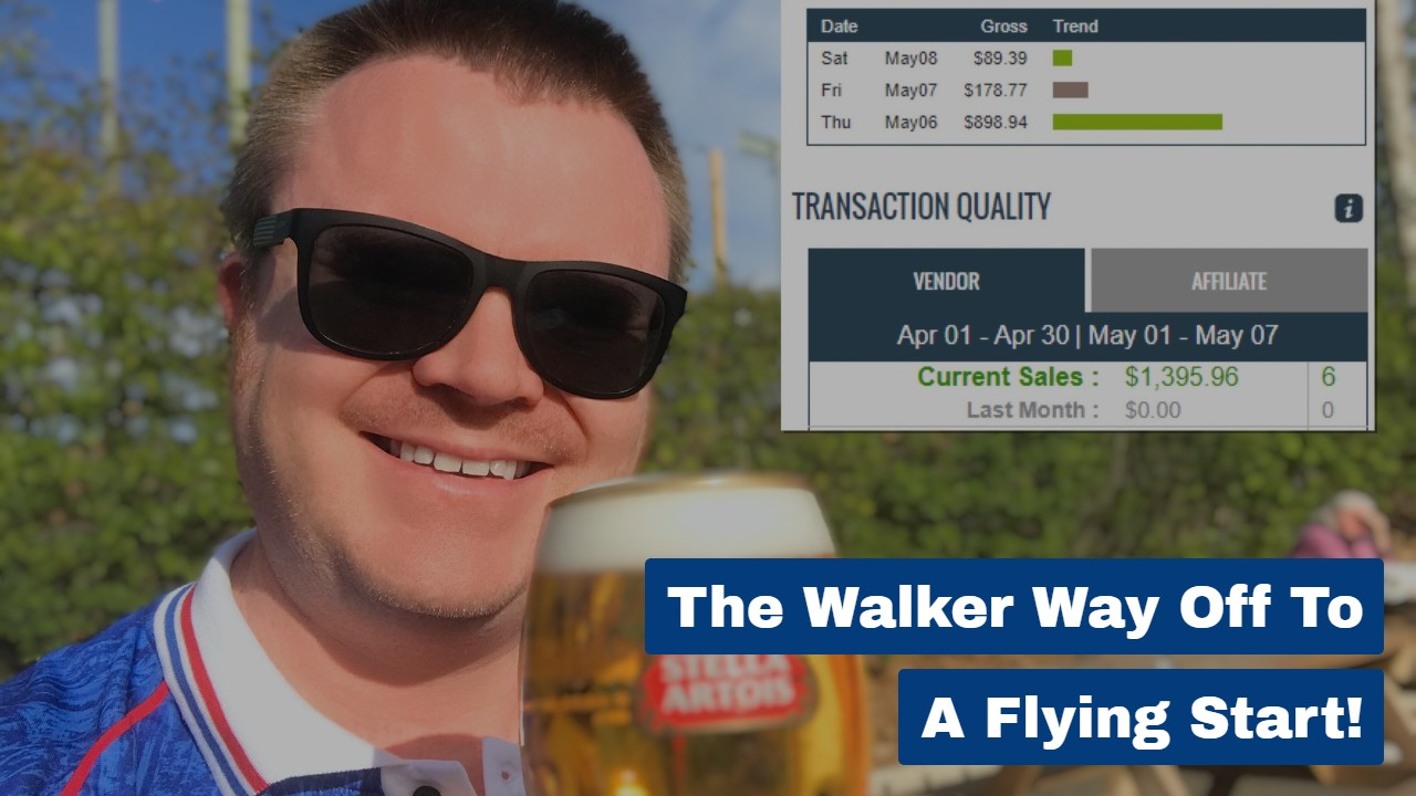 The Walker Way Off To A Flying Start!
