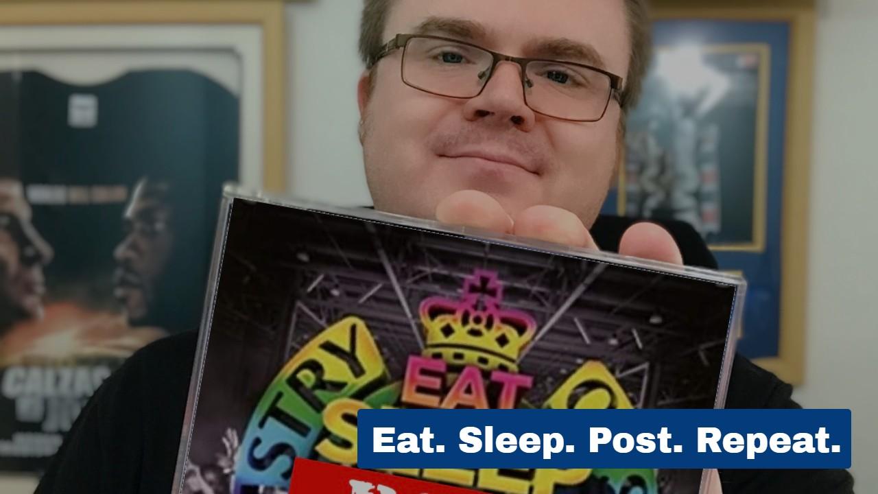 Eat, Sleep, Post, Repeat